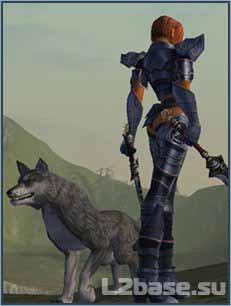 Волк в Lineage2 кач