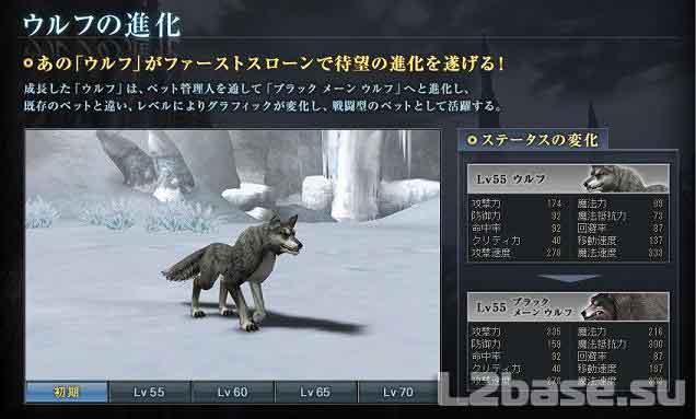 Волк в Lineage2