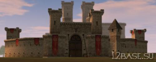 Замок Глудио