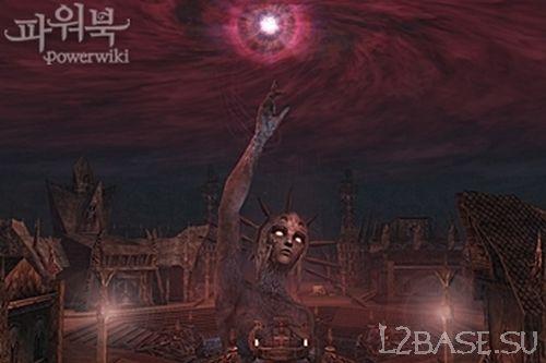 Деревня Тёмных Эльфов в Goddess of Destruction: The Awakening
